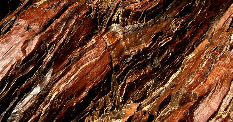 Zoroaster Granite The White Streaks Formed When Molten